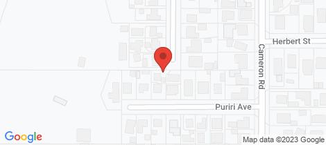 Location map for 28 Princess Street Te Puke