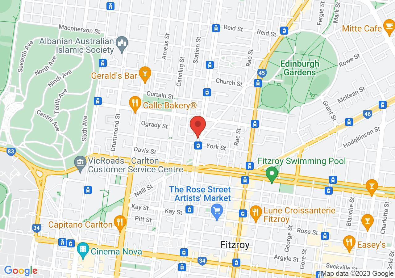 The location of San Remo Ballroom