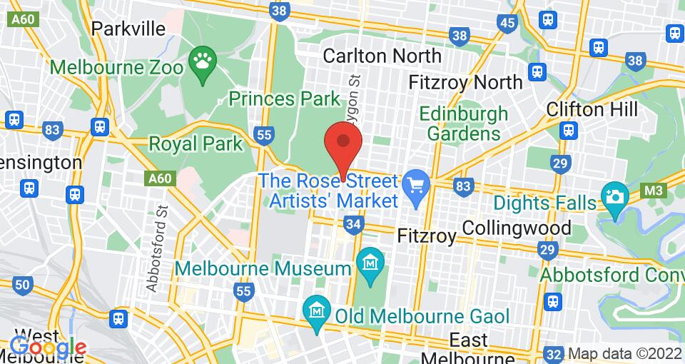 Google Map of 550 Lygon - Student Accommodation Melbourne