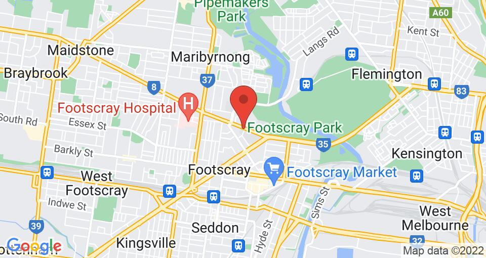 Google Map of UniLodge Victoria University