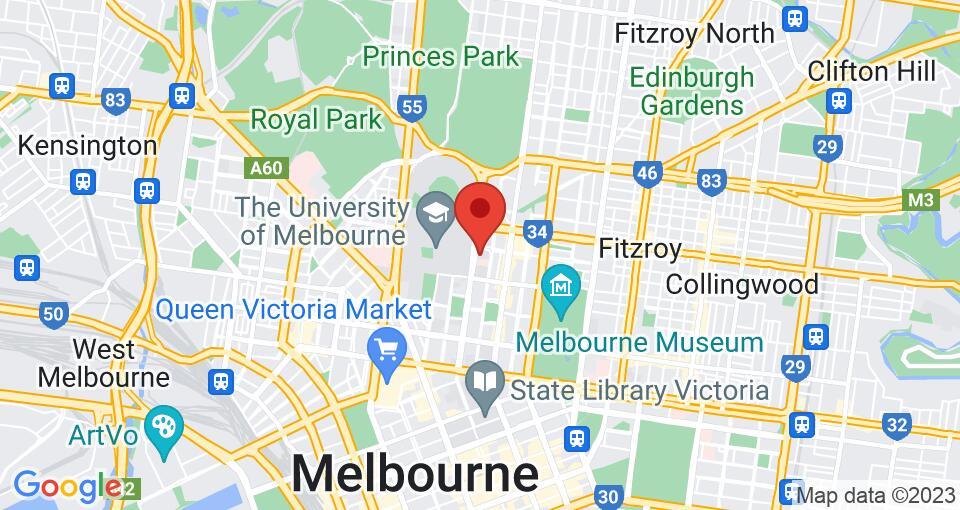 Google Map of Student Living - 746 Swanston