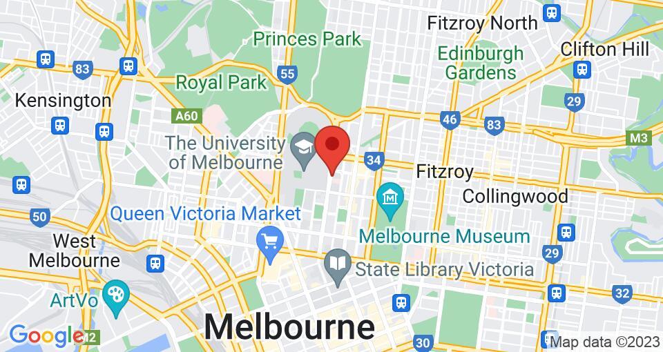 Google Map of UniLodge @ Melbourne