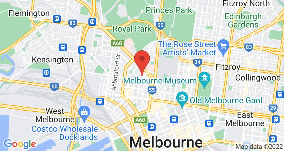 Google Map of UniLodge Royal Melbourne - Student Accommodation Melbourne
