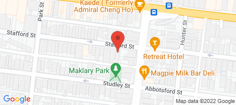 Location map for 103 Stafford Street Abbotsford