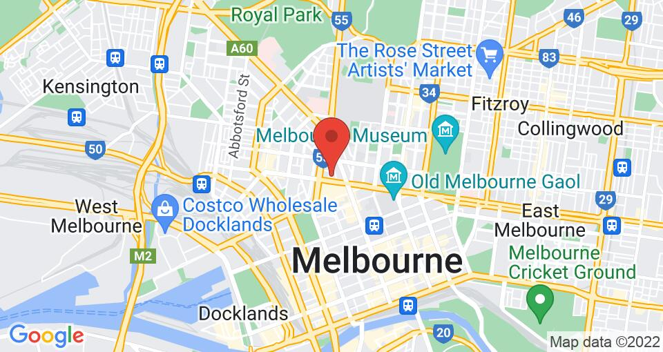 Google Map of UniLodge on Cobden - Student Accommodation Melbourne