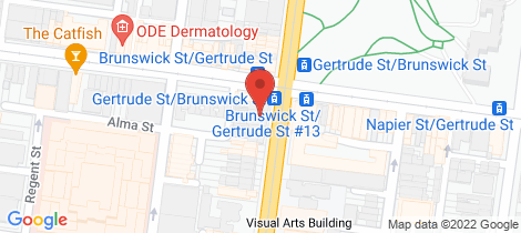 Location map for 4/45 Brunswick  Street Fitzroy