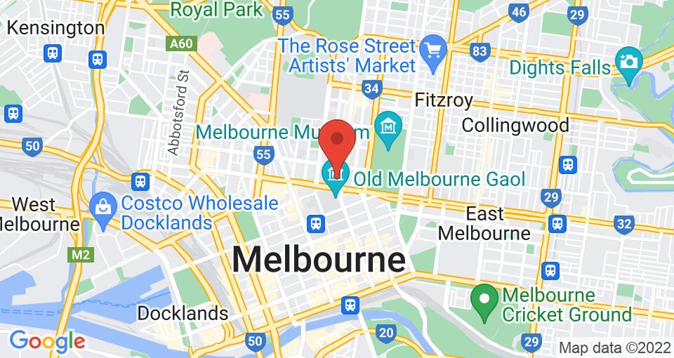 Google Map of UniLodge D2 - Student Accommodation Melbourne