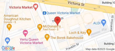 Location map for 5506/500 Elizabeth Street Melbourne