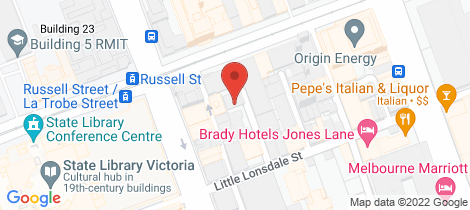 Location map for 5/5 Davisons Place Melbourne