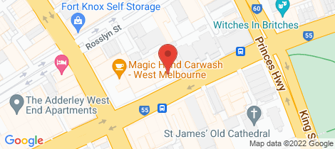 Location map for 2211/130-152 Dudley Street West Melbourne