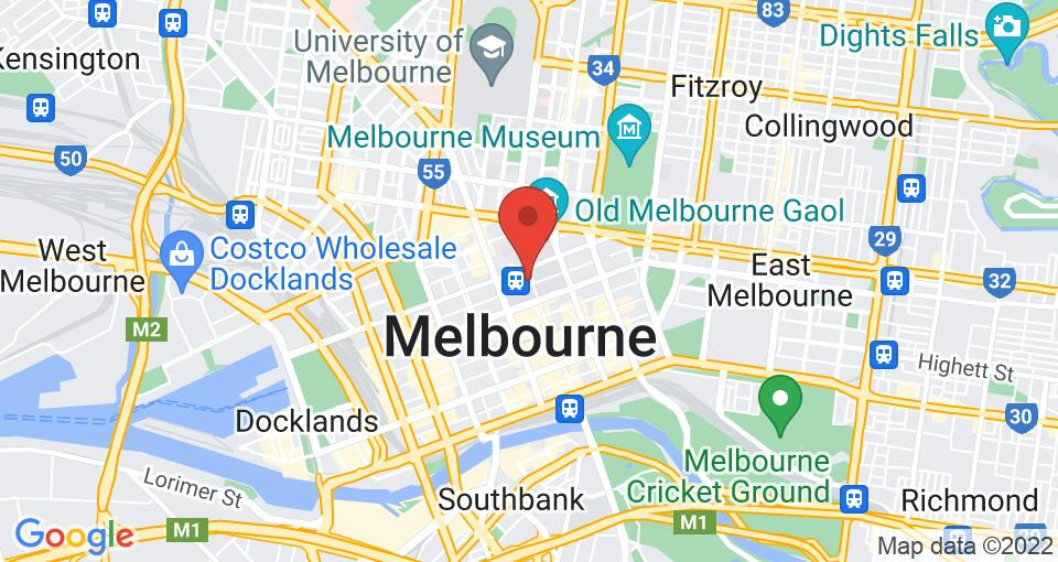 Google Map of UniLodge on Swanston
