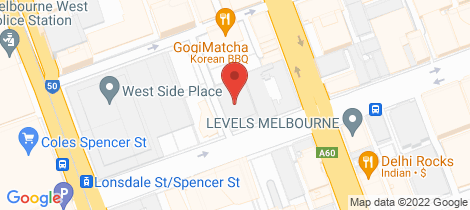 Location map for 2004/618 Lonsdale Street Melbourne