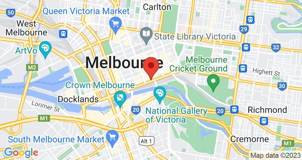 Google Map of UniLodge on Flinders
