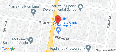 Location map for 5/283-285 Williamstown Road Yarraville