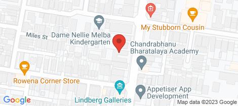 Location map for 1/200 Lennox Street Richmond