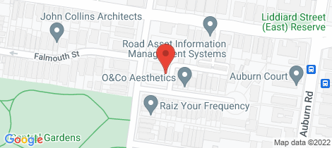 Location map for 6/9 Henry Street Hawthorn