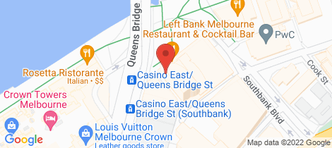 Location map for 1309/1 Freshwater Place Southbank