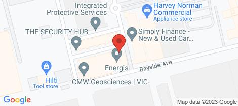 Location map for 29/3 Westside Avenue Port Melbourne