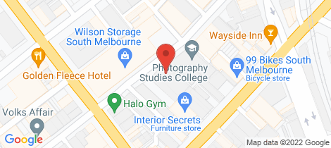 Location map for 51 Thistlethwaite Street South Melbourne