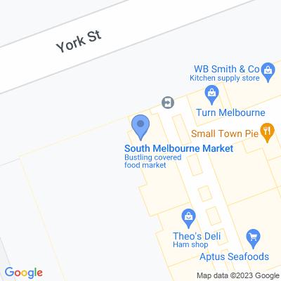 CREATE TBT SHOP 169, CORNER CENTRE AISLE & AISLE D SOUTH MELBOURNE MARKET, SOUTH MELBOURNE, VIC 3205, AU