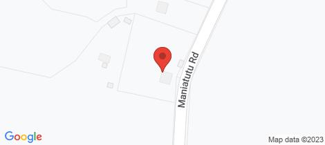 Location map for 224 Maniatutu Road Pongakawa
