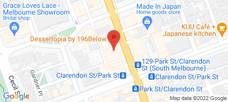 Location map for 346 Clarendon Street & 59 Emerald Hill Place South Melbourne