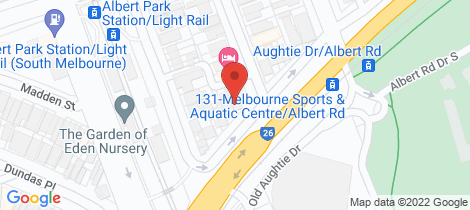Location map for 3 66 Albert Road South Melbourne