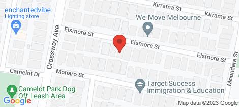 Location map for 29 Elsmore Street Tarneit