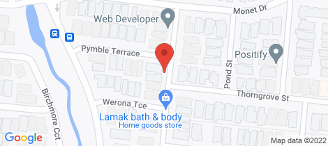 Location map for 2017 Echinacea Street Truganina