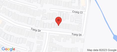 Location map for 16 Tony Drive Truganina