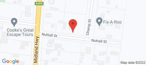 Location map for 1 Nuttall Street Meredith
