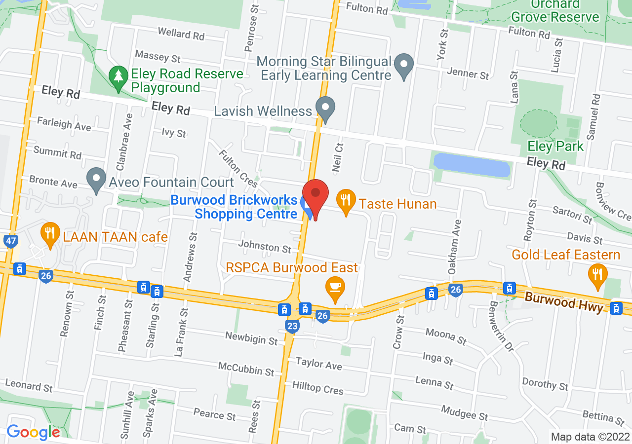 The location of Acre Farm & Eatery