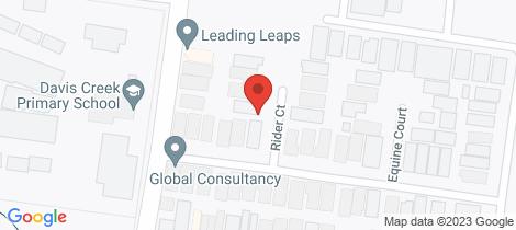 Location map for 3 Rider Court Tarneit