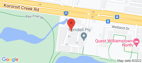 Location map for 2 Sunset Drive Williamstown