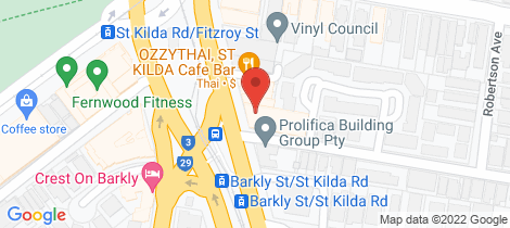 Location map for 2/40-44 ST.KILDA ROAD St Kilda