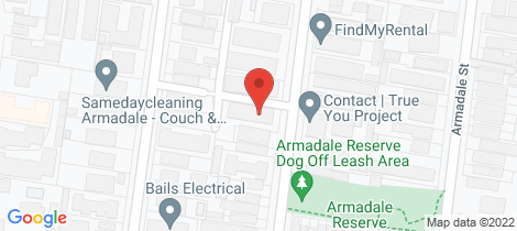 Location map for 9/39 Sutherland Road Armadale