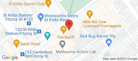 Location map for 14/149 Fitzroy Street St Kilda