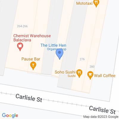 The Little Hen 270-272 Carlisle Street , BALACLAVA, VIC 3183, AU