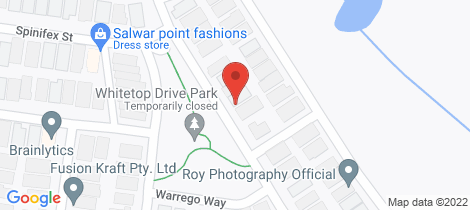 Location map for 383 Boardwalk Blvd Point Cook