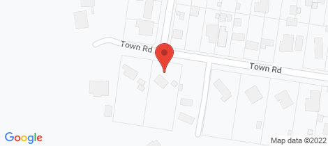Location map for 21 Town Road Gembrook