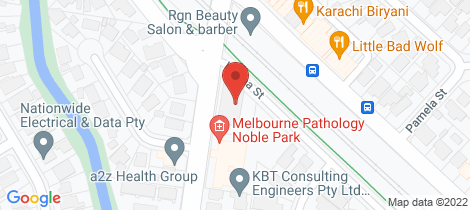 Location map for 15/125 Chandler Road Noble Park