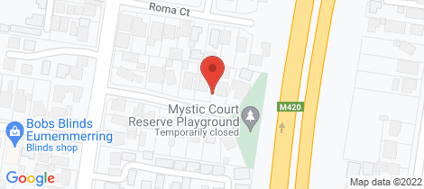Location map for 9 Mystic Court Eumemmerring