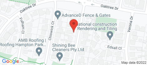 Location map for 7 Ashford Close Hampton Park