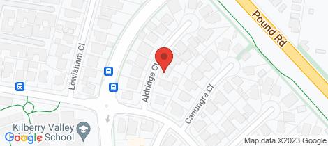 Location map for 6 Aldridge Court Hampton Park