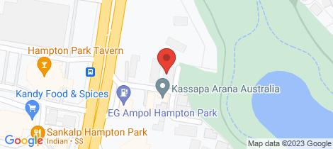 Location map for 5/66 Hallam Road Hampton Park