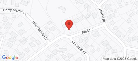 Location map for 2 Reid Drive Putaruru