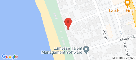 Location map for 2/26 Swansea Road Chelsea