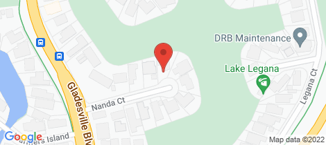 Location map for 11 Nanda Court Patterson Lakes