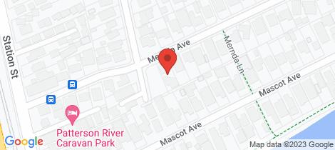 Location map for 1/10 Mernda Avenue Bonbeach