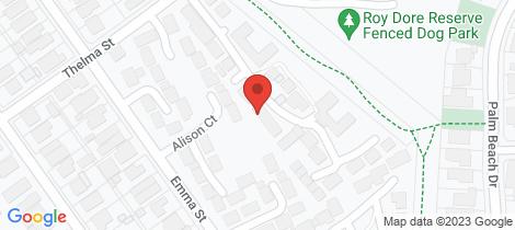 Location map for 12 Parkside Boulevard Carrum